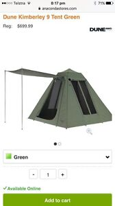 canvas tent in Melbourne Region, VIC