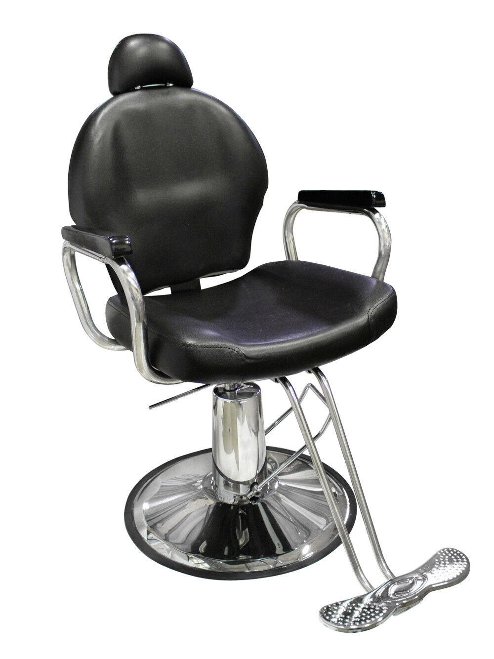 New Reclining Hydraulic Barber Chair Salon Styling Beauty