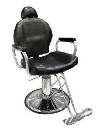 New Reclining Hydraulic Barber Chair Salon Styling Beauty ...