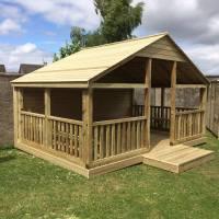 Wooden Outdoor Gazebo 3m x 4.5m,BBQTreated,Outdoor,Summer ...