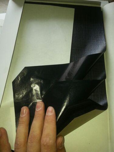 100 Blatt Durchschreibepapier Kohlepapier Pauspapier Für Holz Stoff Tuch Schwarz
