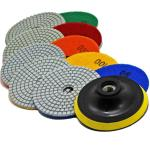 Quickt 4 Diamond Stone Concrete Marble Quartz Granite Wet Polishing Pads Kit Ebay