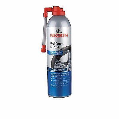 NIGRIN Reifendicht 500 ml 74074 sofortige Pannenhilfe Auto PKW Kfz