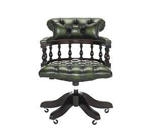 captains chair stool top chairs furniture ebay chesterfield captain s