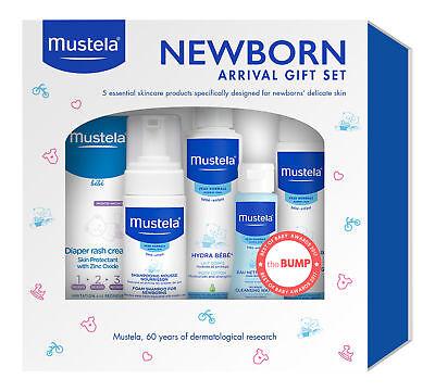 Mustela Newborn Arrival Set. Baby Skin Care Product