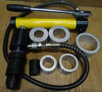 Hydraulic exhaust pipe expander