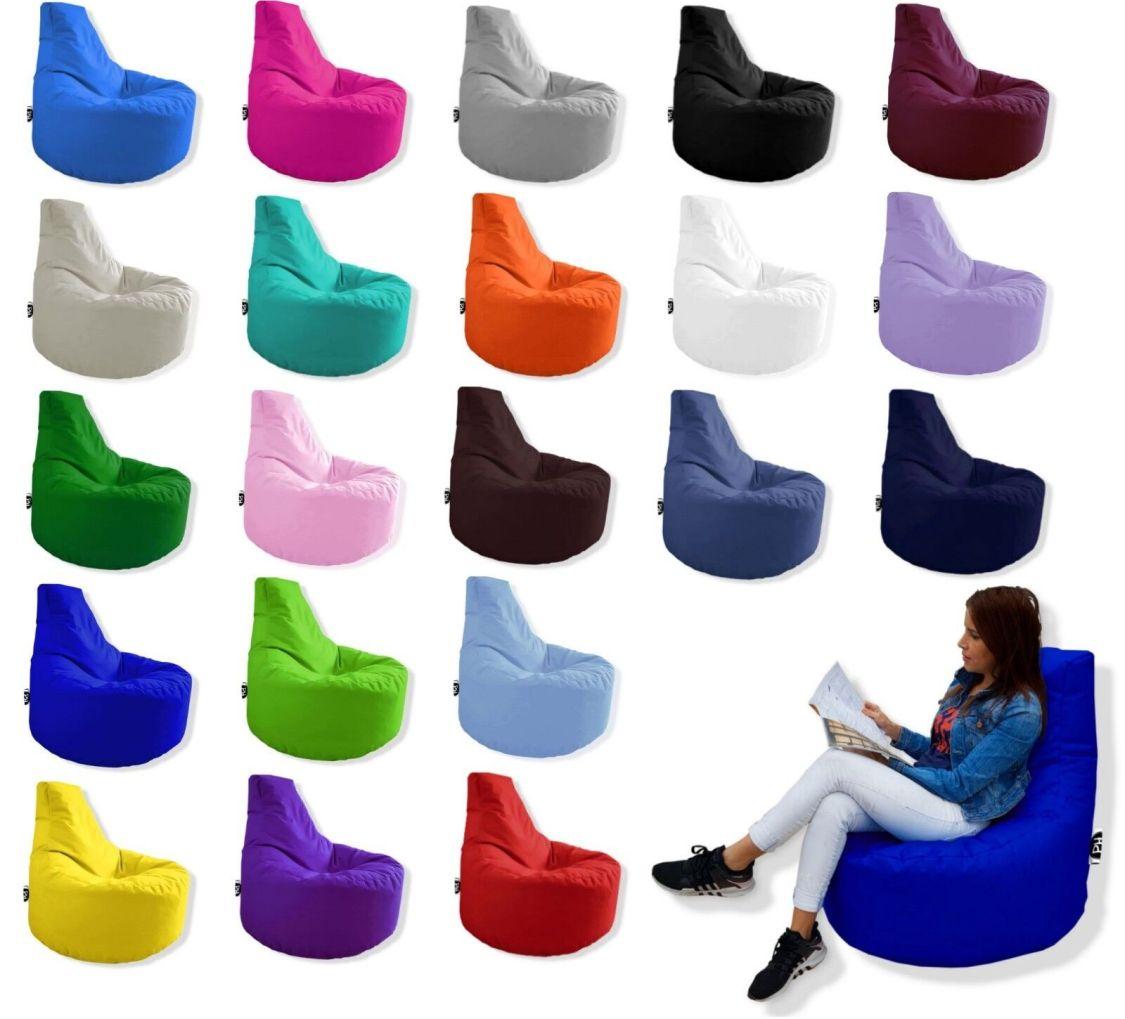 Patchhome Gamer Sitzsack Sitzkissen Beanbag  Tobekissen Lounge Sessel Kissen NEU