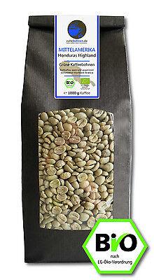 Bio Rohkaffee - Grüner Kaffee Honduras Highland (grüne Kaffeebohnen 1000g)