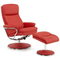 Leather Recliner Chairs Modern Uk Retro Heston Luxury Swivel Chair Reclining Armchair