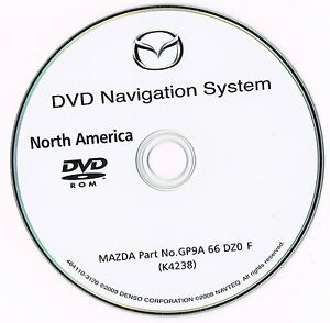 Mazda GPS Navigation DVD 2006 2007 2008 GP9A 66 DZ0 F 3 5