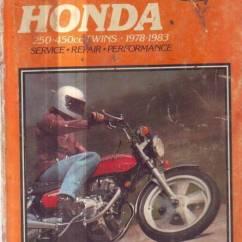 Cb400 Vtec Wiring Diagram Ez Go Txt Honda Cb250 Cm400 Cb450 Cm450 Workshop Manual 1978 83