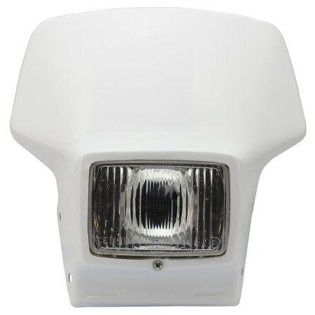 mascherina portafaro yamaha tt 350 / 600 59x cemoto colore bianco 2400C