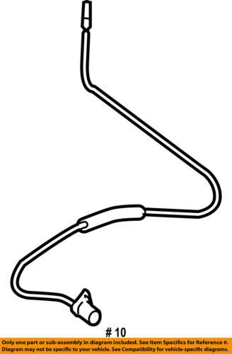 bmw vehicle speed sensor wiring diagram 350 oil flow oem 06 10 m6 abs anti lock brakes front 34527853583 seller payment information