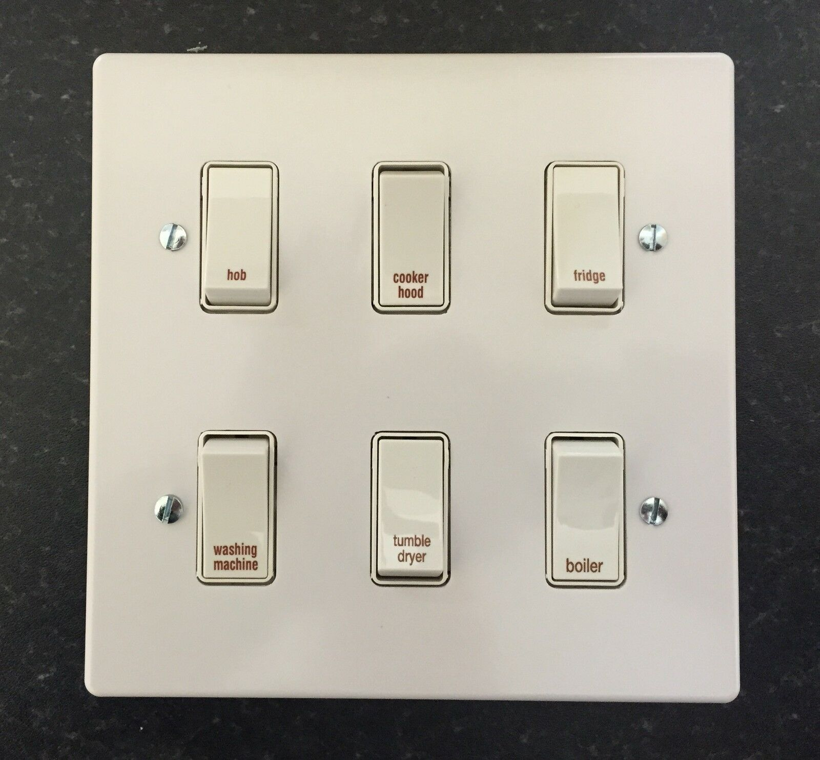 wiring diagram 2 switches 1 light lace sensor dually crabtree grid switch kitchen multi gang plates | ebay