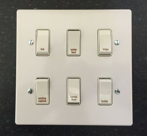 Crabtree Grid Switch Kitchen Multi Gang Switch Plates | eBay