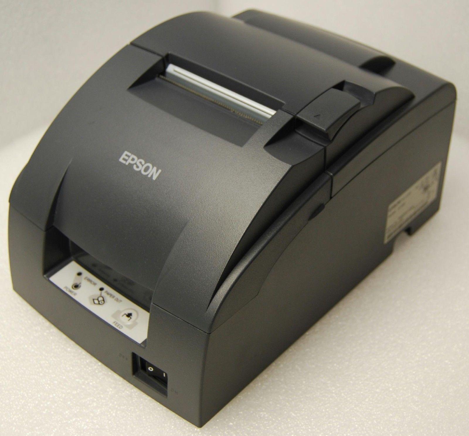 epson kitchen printer tiny house kitchens tm u220b usb receipt with power