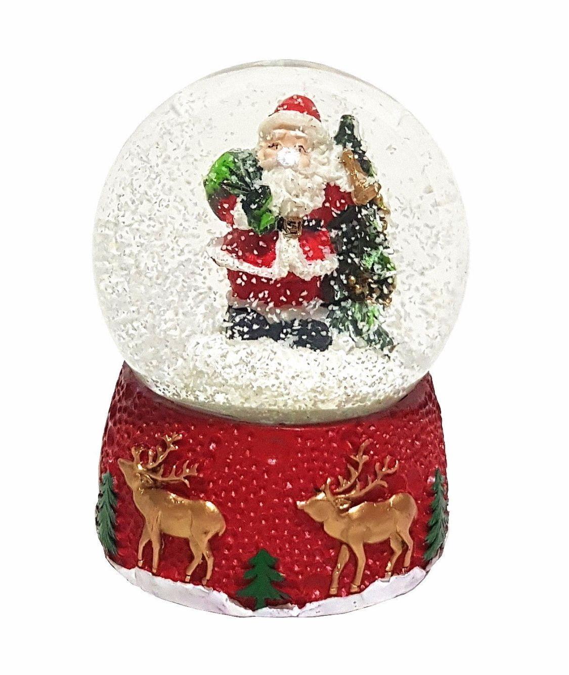 Schneekugel Weihnachtskugel Weihnachtsmann Weihnachten Weihnachtsdekoration Xmas