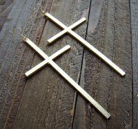 """5"""" Extra Large Long Cross Dangle Earrings Fun Fashion ..."""