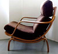 Charlton Vtg Mid Century Danish Modern Chair Eames Aalto ...