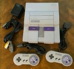 Super Nintendo SNES Console COMPLETE Cleaned/Sanitized ***FREE SHIPPING***