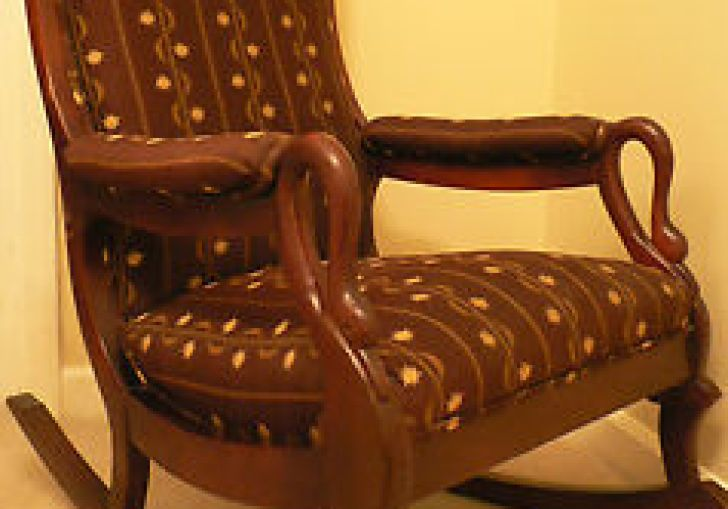 Reupholstered Rocking Chair