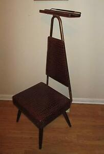 Mid Century Danish Modern Men 039 s Valet Butler Chair