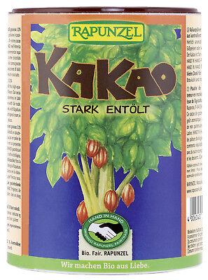 Bio Kakaopulver stark entölt, 250 g NEU & OVP von Rapunzel