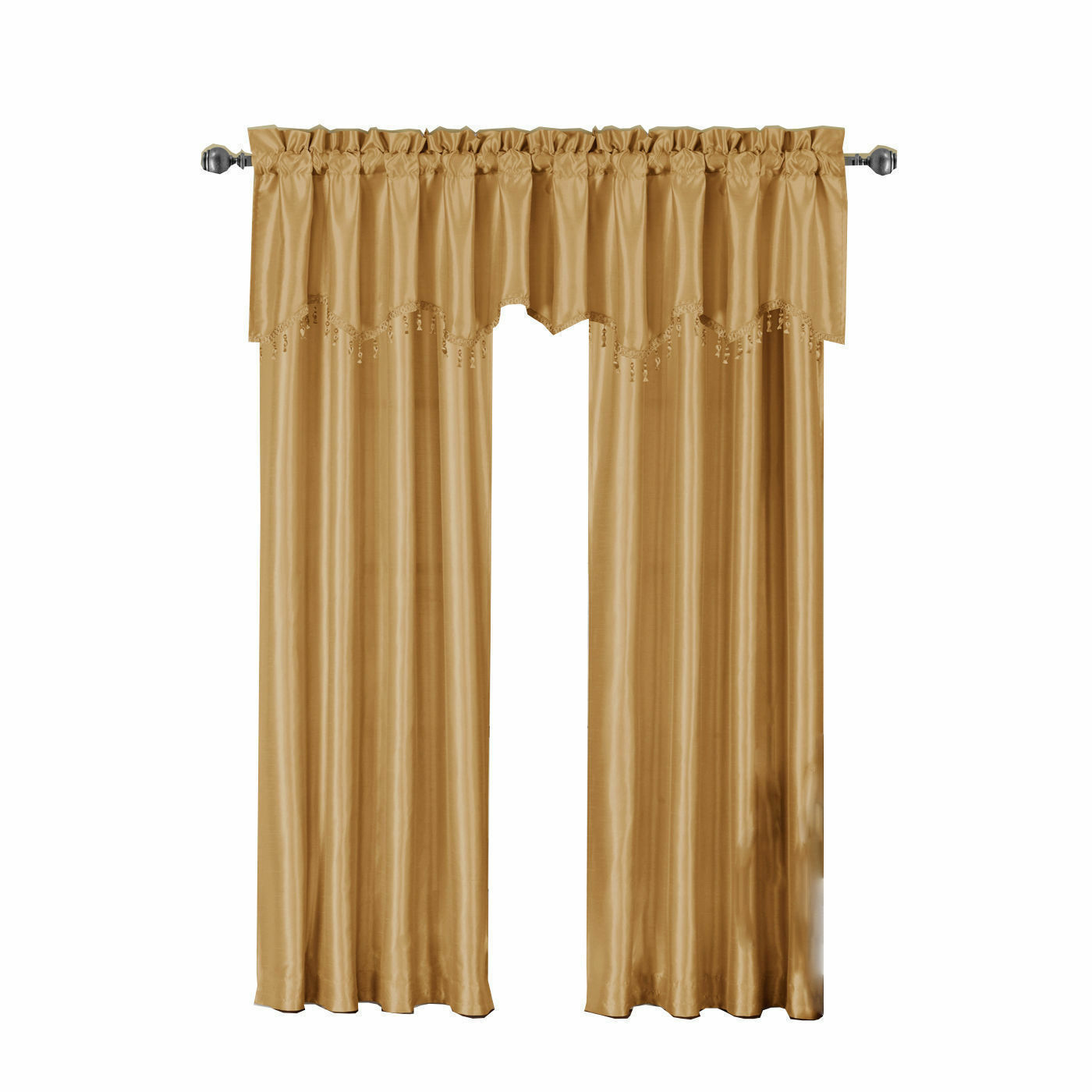 gold curtains drapes and valances for