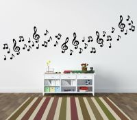 MUSICAL NOTES wall stickers, 54 PACK home/car | eBay