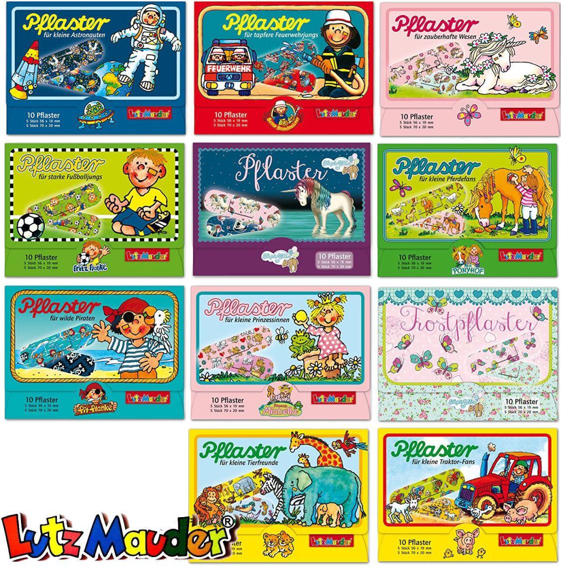 10 Kinderpflaster, Pflasterbriefchen, Pflaster von Lutz Mauder, Mitgebsel