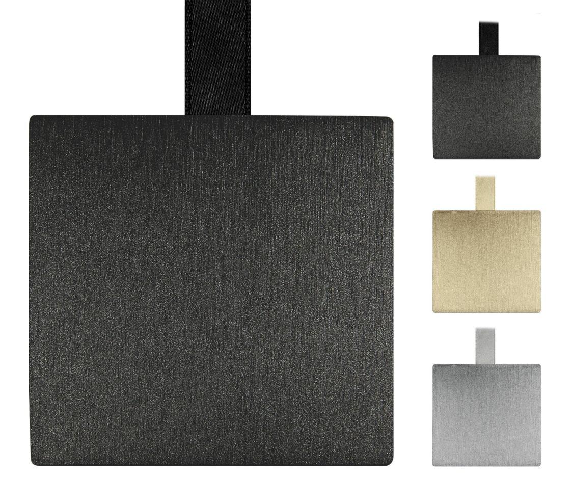 Metalloptik Raffhalter mit Magnet Band magnetischer Gardinenhalter Farbe wählbar