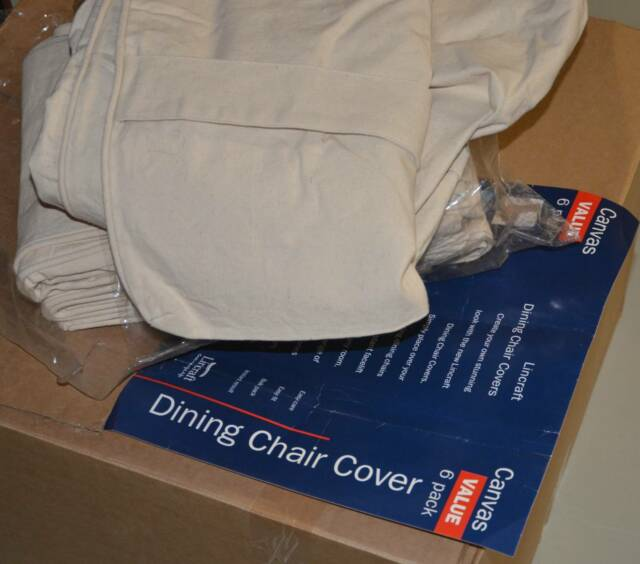 chair covers lincraft eiffel wood legs canvas dining 6 pack other home decor gumtree australia brisbane north west ashgrove 1196300404