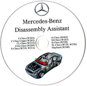 Mercedes-Benz-Disassembly-Assistant-Workshop-Manual-W210