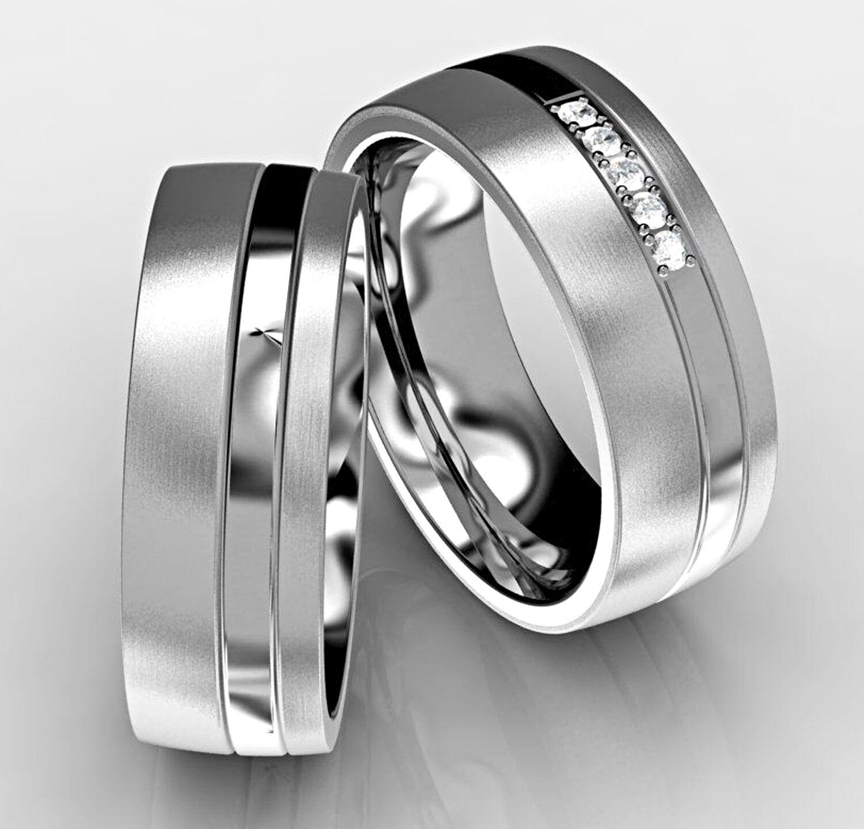 2 Verlobungsringe Eheringe Partnerringe