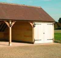 Solid Oak Garage Door Frame - 7' x 9' Doors | eBay
