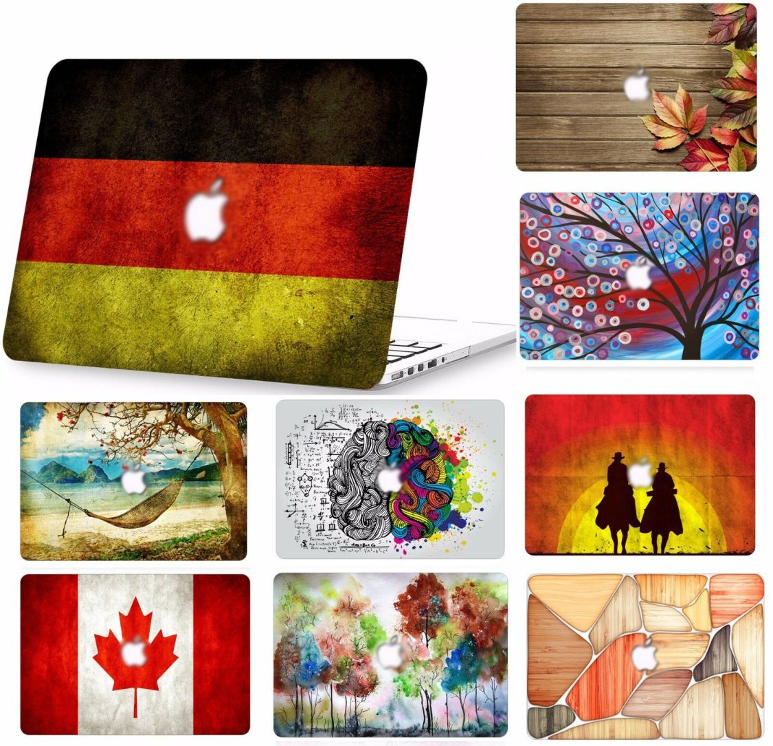 Laptop Hard Case für MacBook Pro Mac Air 11 13 15 Retina Schutzhülle Shell Etui