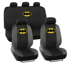 Batman Car Chair Toddler Bouncy Seat Covers Classic Yellow Logo Dc Comics Ebay