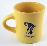 Life Is Good Coffee Tea Cup Mug Yellow Do What You LIke ...