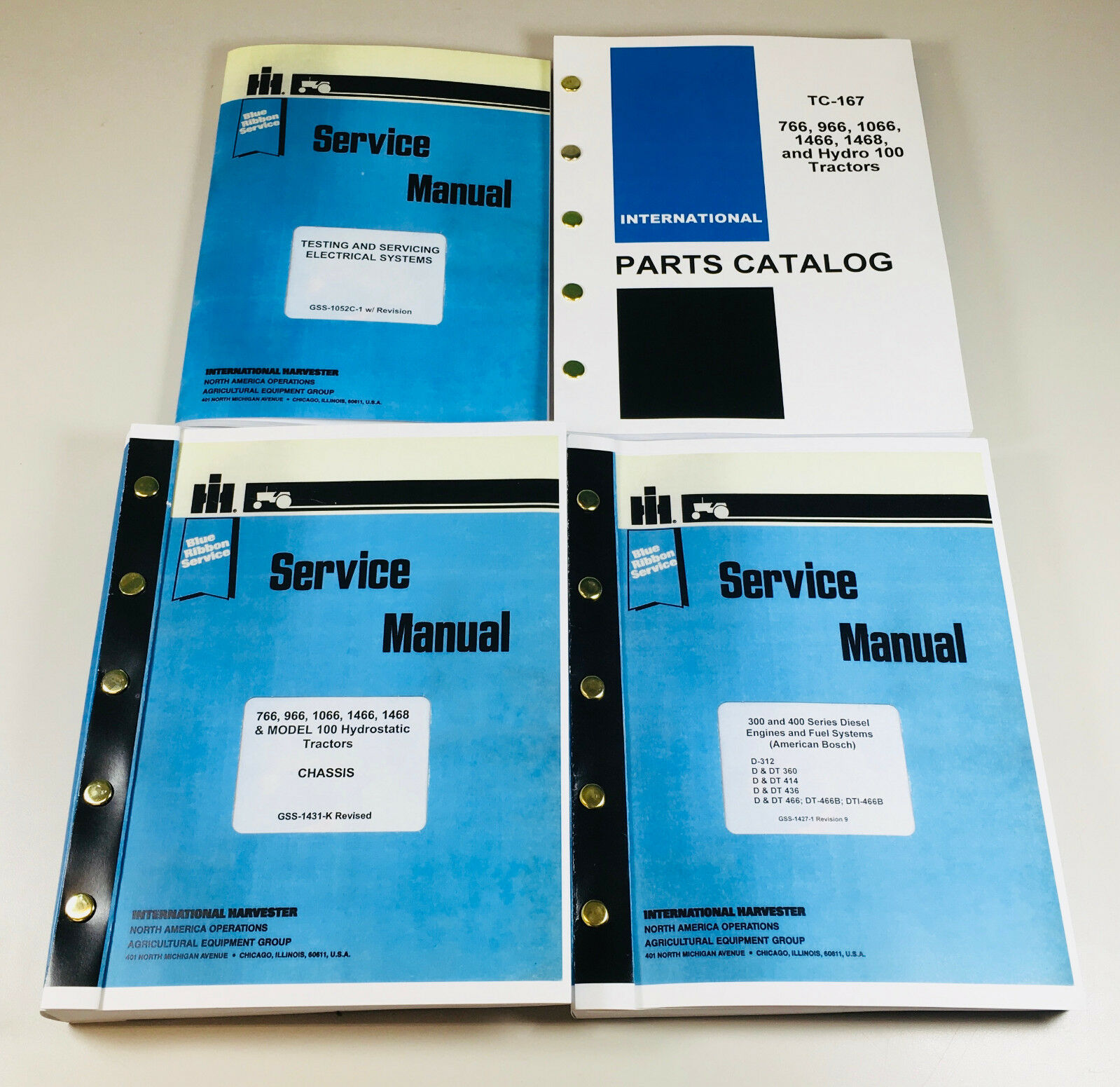 international 766 966 1066 1466 tractor service parts manual engine on farmall 806 wiring diagram  [ 1599 x 1551 Pixel ]