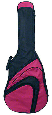 Gig Bag- Gitarrentasche gepolstert GB500 rot,10mm, 4/4 Konzert/Klassikgitarre!n