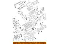 AUDI OEM 14-16 A6 Quattro Camshaft Cam-Cover Gasket