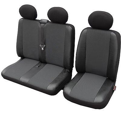 Bus Autositzbezüge Kunstleder Sitzbezug 1 + 2 Transporter  Elegance VW T4