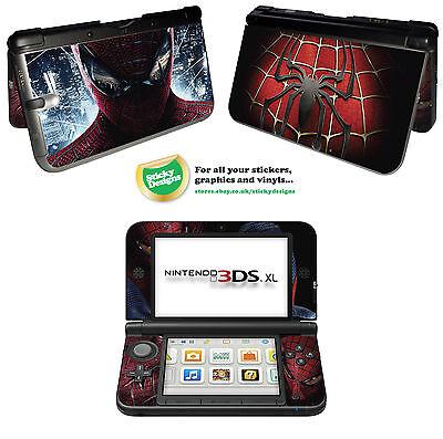 Spiderman Vinyl Skin Aufkleber für Nintendo 3DS XL