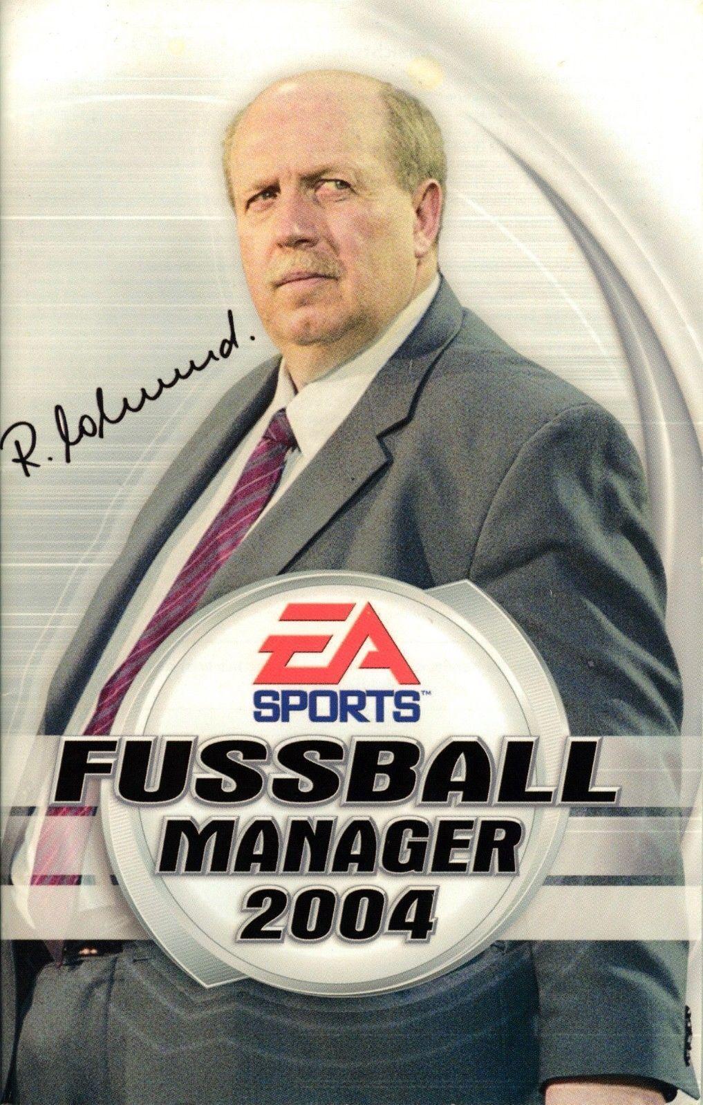 PS 2 - FUSSBALL MANAGER 2004 mit Anleitung