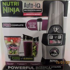 Ninja Complete Kitchen System Exhaust Hoods Nutri Blender Auto Iq Extraction