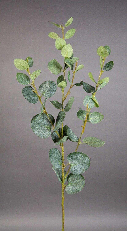 Eukalyptuszweig 78cm LM Kunstzweig künstliche Zweige künstlicher Eukalyptus