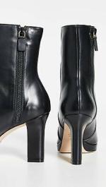 Stuart Weitzman Women's Rosalind 90mm Booties, Black, Size 7.5 NIAp