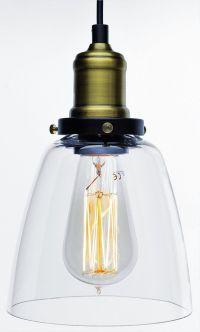 Vintage Unique Style Glass Shade Chandelier Pendant ...