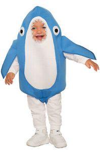 Nipper the Shark Great White Shark Infant Costume