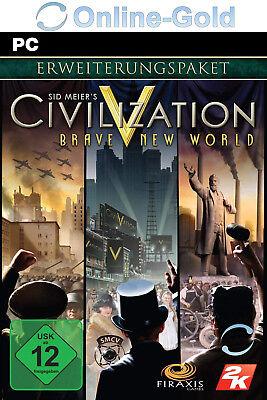 Civilization 5 Brave New World (Addon) Key für PC - Download kostenlos - CIV V